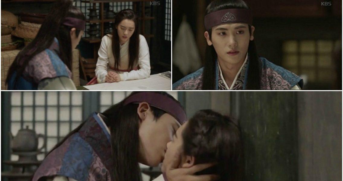 "Park Hyung Sik's Kissing Scene in ""Hwarang"" Draws Attention"