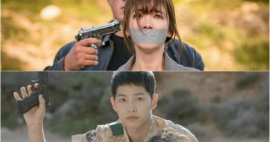 """A Look Back at 'Descendants of the Sun' Episode 11-2 """"Mo Yeon Got Kidnapped, Shi Jin Quickly Made A Move"""""""
