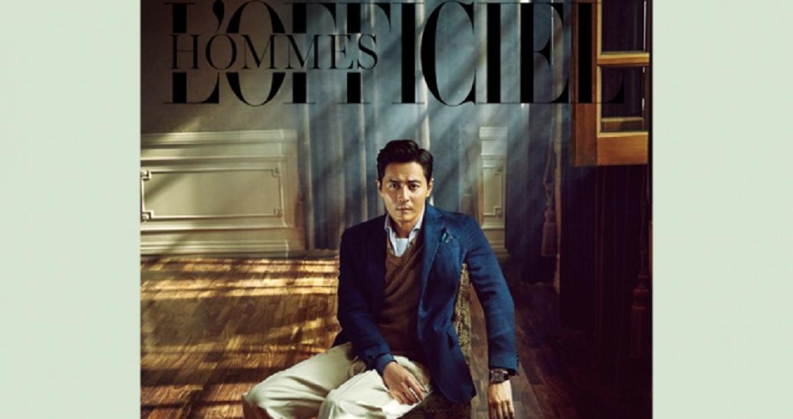 Jang Dong Gun For 'L'Officiel Hommes'
