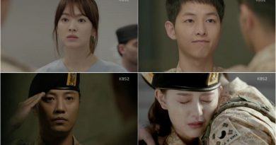 "A Look Back at 'Descendants of the Sun' Episode 4-1 ""Dae Young and Myeong Joo's Complicated Love Story"""