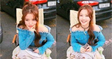 Kim Yoo Jung's Fresh Look on Instagram