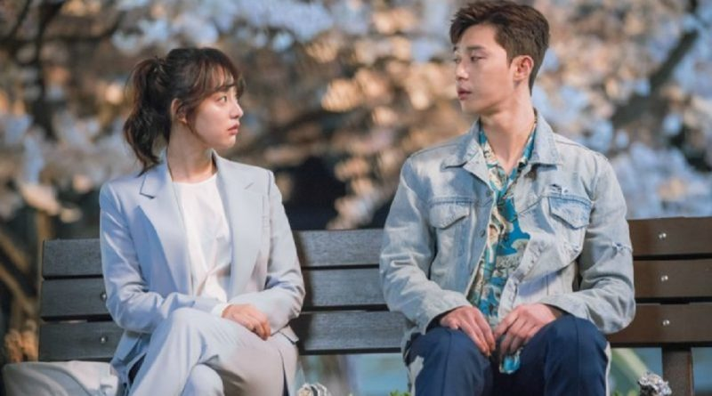 Fight For My Way Releases Couple Shot Of Park Seo Joon And Kim Ji