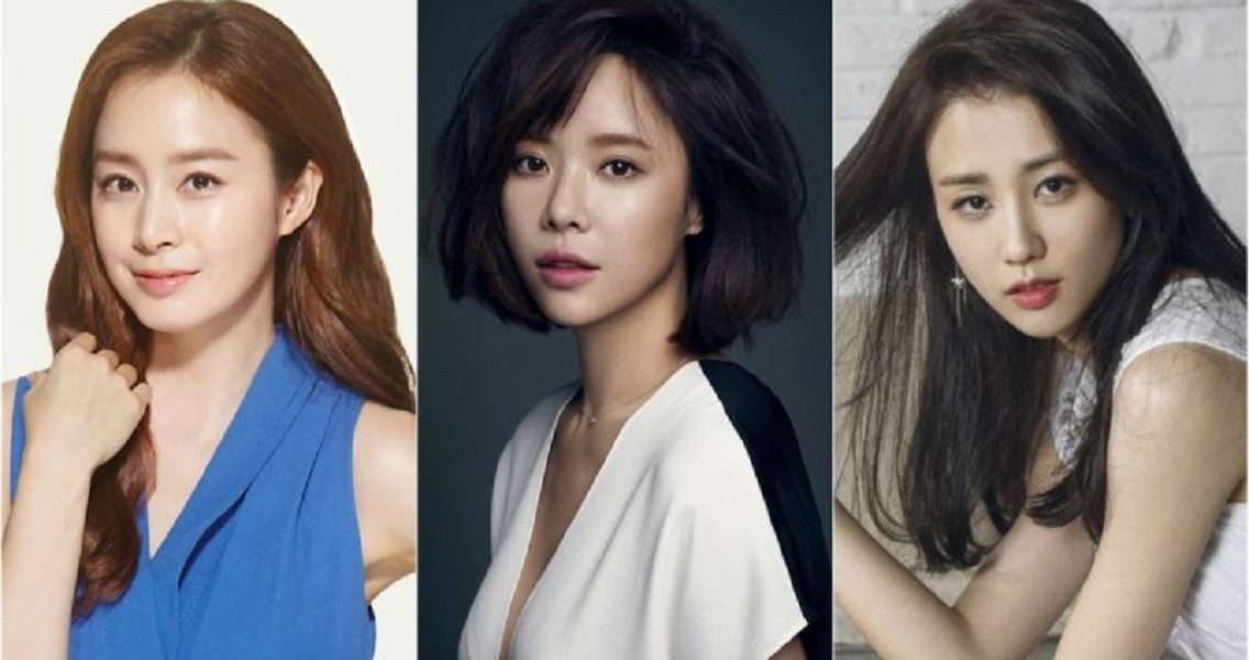 The Soon-to-be-Moms Who Are Taking a Break from the Acting World: Kim Tae Hee, Hwang Jung Eum, and Park Ha Sun