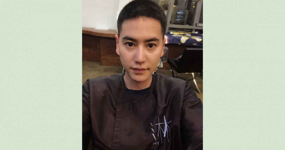 Kyu Hyun Shows Off His Shaved Head Ahead of Military Service
