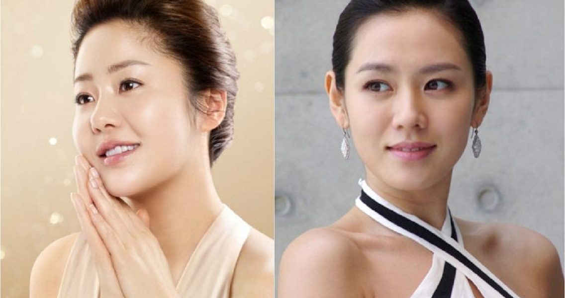 Go Hyun Jung and Son Ye Jin's Way to Clean Their Face
