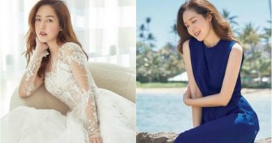Sung Yoo Ri Talks about Her Marriage on Marie Claire