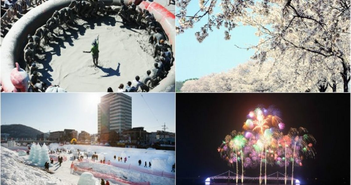 [RANK AND TALK] 4 Festivals You Have To Attend in Korea