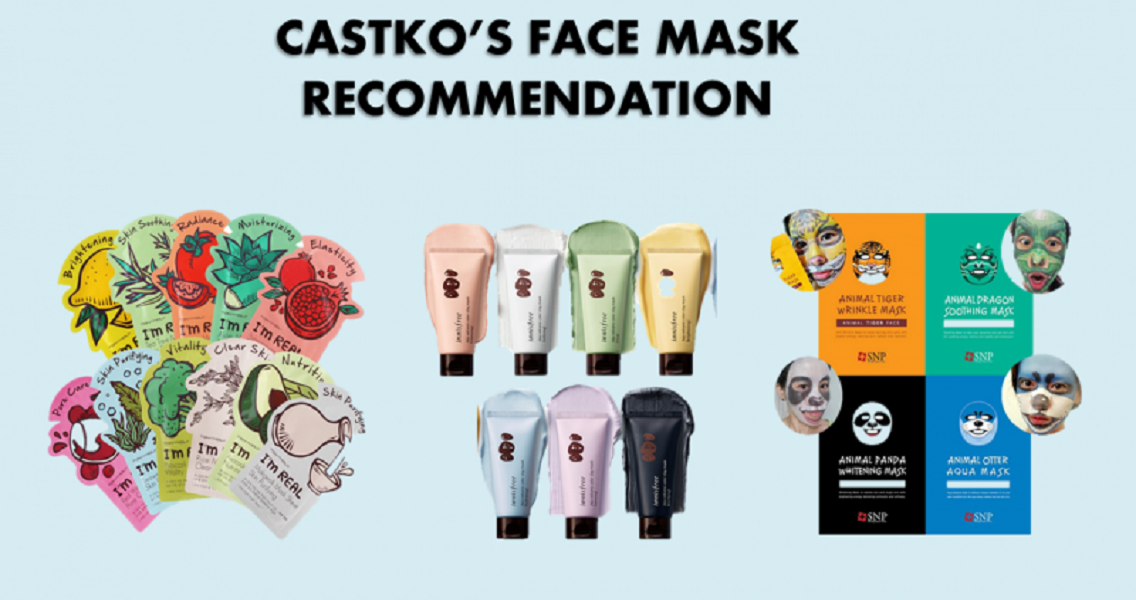 3 Korean Face Mask For Your Healthy and Fresh Skin!