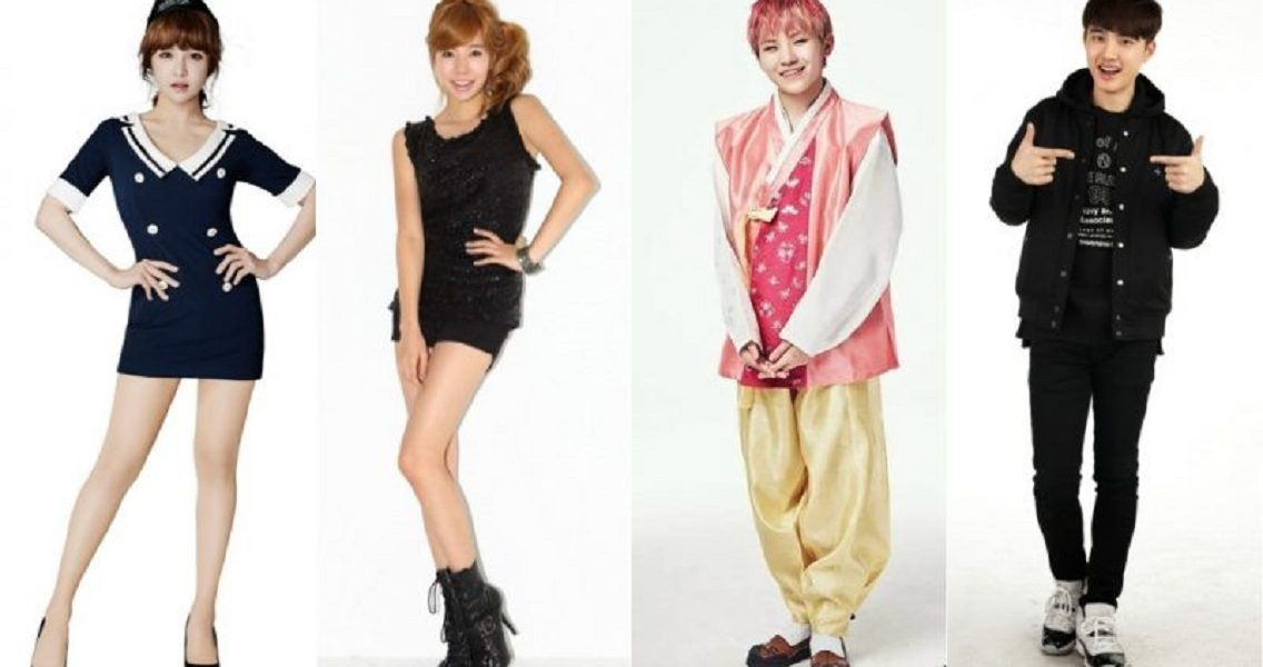 [RANK AND TALK] 4 Korean Idols With Petite Bodies