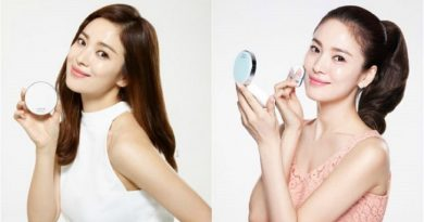 The Make Up That Complements Song Hye Kyo's Clear Skin, the Slightly Arched Brows Complete Her Charming Visual