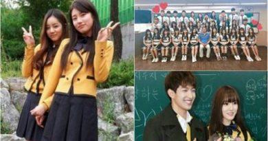 7 Korean Celebrities Who Were Classmates At School