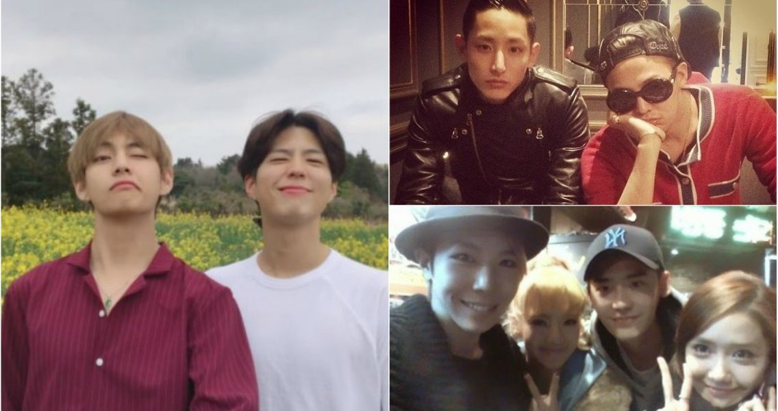 4 Idol-Actors Who Unexpectedly Are Close Friends