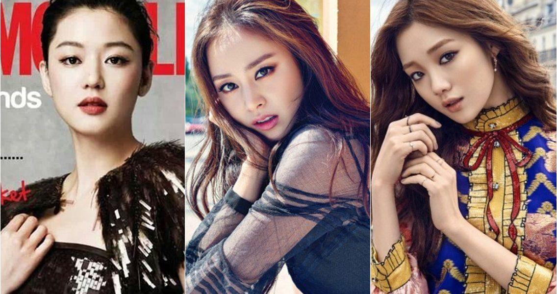 [RANK AND TALK] Makeups of 3 Beautiful Actresses That Look Glamorous