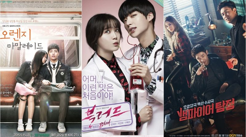 3 Popular Korean Dramas With Vampire Theme Castko
