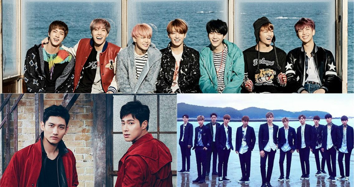 [RANK AND TALK] 3 Idol Groups With The Most Fancafe Members