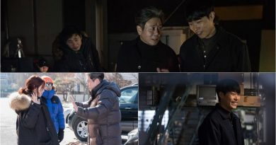 Choi Min Sik, Park Shin Hye, and Ryu Junyeol Being Friendly On The Set of 'Silent Witness'