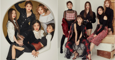 Red Velvet, 5 Individual With 5 Different Charms