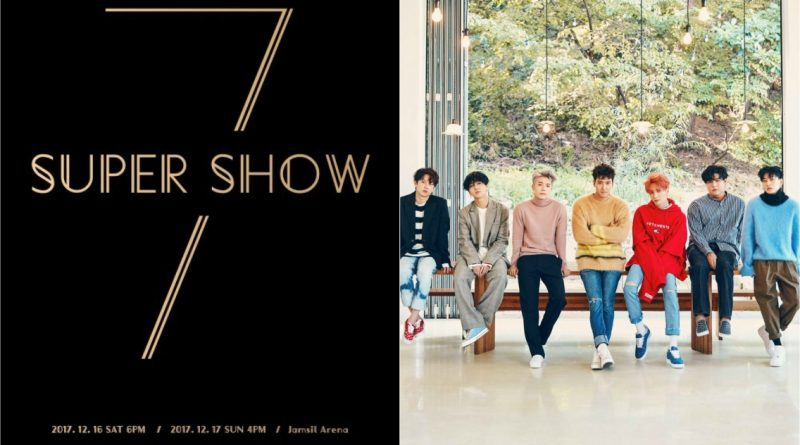 Super Junior to Start 'Super Show 7' Concert in December and
