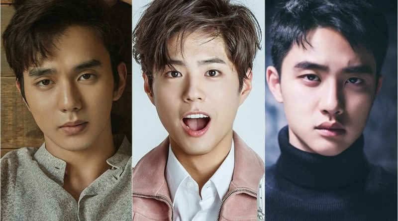 Yoo Seung Ho, Park Bo Gum, and Do Kyung Soo, 1993-born