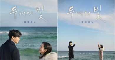'Two Rays of Light' Released Movie Poster Featuring Han Ji Min and Park Hyung Sik