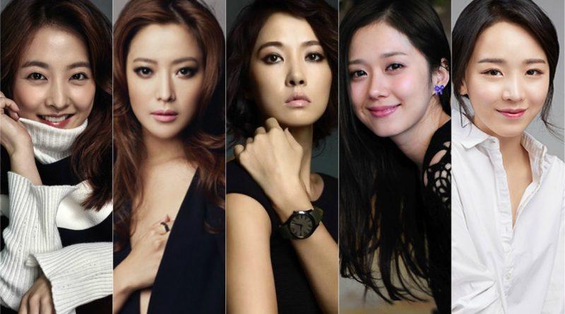 Park Bo Young, Kim Hee Sun, Kim Sun Ah, Jang Na Ra, and Shin Hye Sun