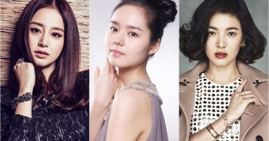 Kim Tae Hee's Eyes, Han Ga In's Nose, and Song Hye Kyo's Lips Are The Ideal Beauty