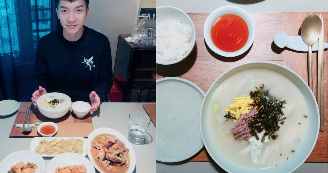 """""""The opening of Lunar Special Son's Restaurant"""".. Lee Seung Gi, a new year's greeting from Son O Gong"""