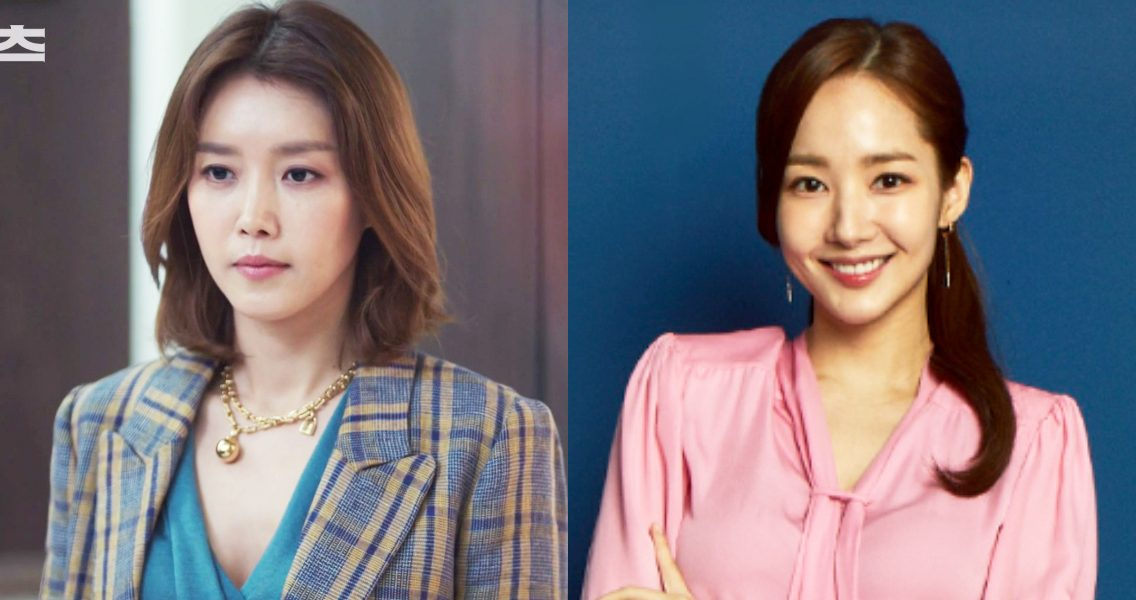'Office Look' in drama… Classy Chae Jung An vs Neat Park Min Young
