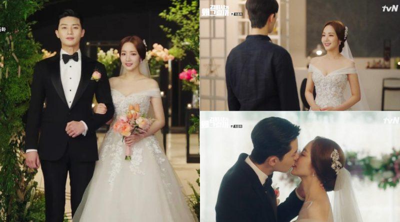 The end of \'Why Secretary Kim\' Park Seo Joon ♥ Park Min Young, a ...