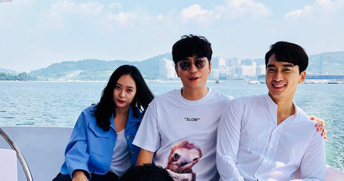 Song Seung Heon x Jung Soo Jung x Lee Si Eon, The good looking men and woman