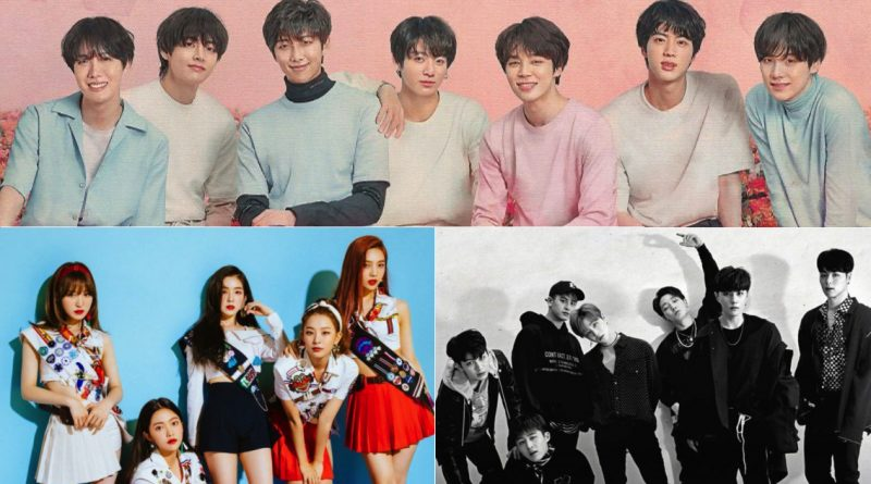 IKON vs Red Velvet vs BTS – CastKo