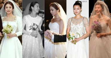 """Prettier than Flower"" The legendary wedding dress of all the ★"