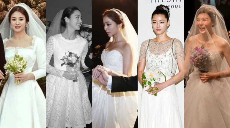 Prettier Than Flower The Legendary Wedding Dress Of All The Castko