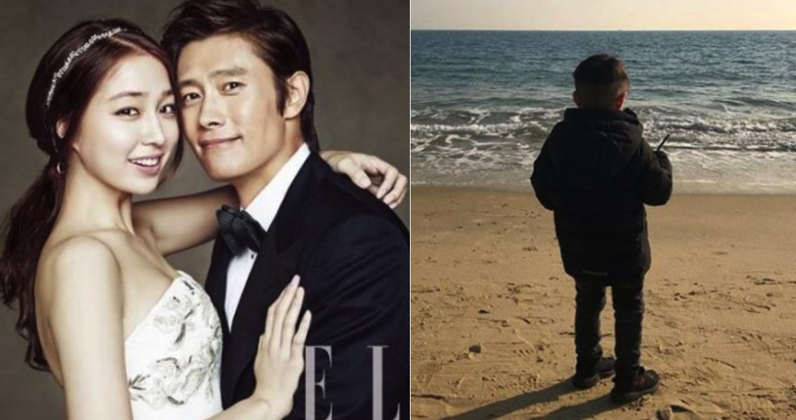Lee Byung Hun x Lee Min Jung, the face of their son was exposed forcefully for the first time