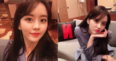 Kim So Hyun, promoting 'Love Alarm' through her recent photo updates