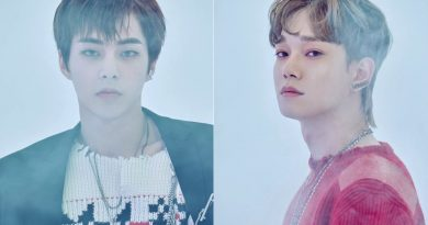 'King of K-Pop' EXO Xiumin & Chen, unveiled the teaser image of new song 'Love Shot'