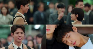 'Boyfriend' Park Bo Gum, the beginning of magical ending.. Becoming Song Hye Kyo's black knight