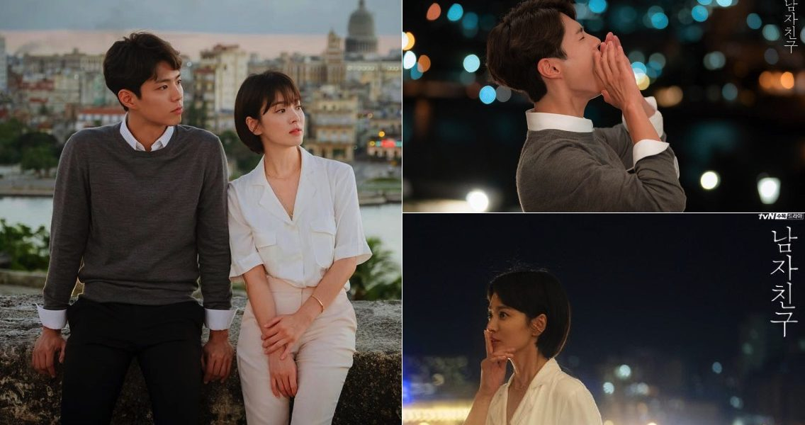 'Boyfriend' Song Hye Kyo x Park Bo Gum, The couple who return to Cuba